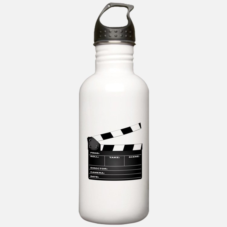 Clapperboard Water Bottle