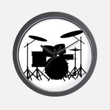 Drum Kit Wall Clock