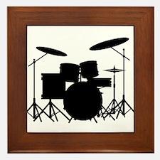 Drum Kit Framed Tile