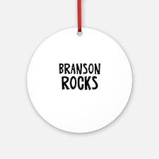 Branson Rocks Ornament (Round)