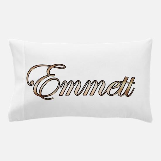 Gold Emmett Pillow Case
