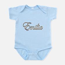 Gold Emilia Body Suit