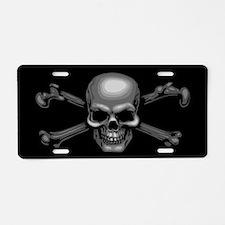 Cute Halloween pirate Aluminum License Plate