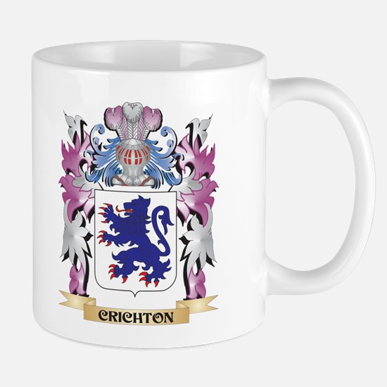 Crichton Coat of Arms (Family Crest) Mugs