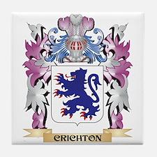 Crichton Coat of Arms (Family Crest) Tile Coaster