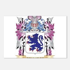 Crichton Coat of Arms (Fa Postcards (Package of 8)