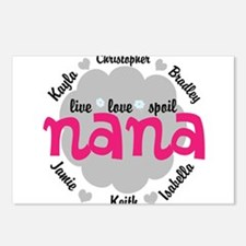 Personalize Nana, MiMi Mamaw Postcards (Package of