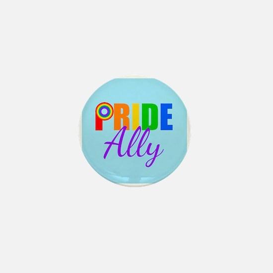 Gay Pride Ally Mini Button