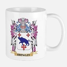 Crowley Coat of Arms (Family Crest) Mugs