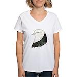 West of England Pigeon Women's V-Neck T-Shirt