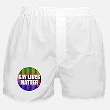 Gay Lives Matter Boxer Shorts