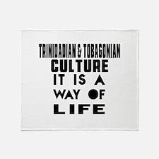 Trinidadian & Tobagonian Culture It Throw Blanket