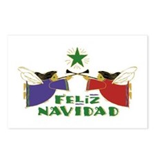 Feliz Navidad Postcards (Package of 8)