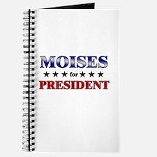 MOISES for president Journal