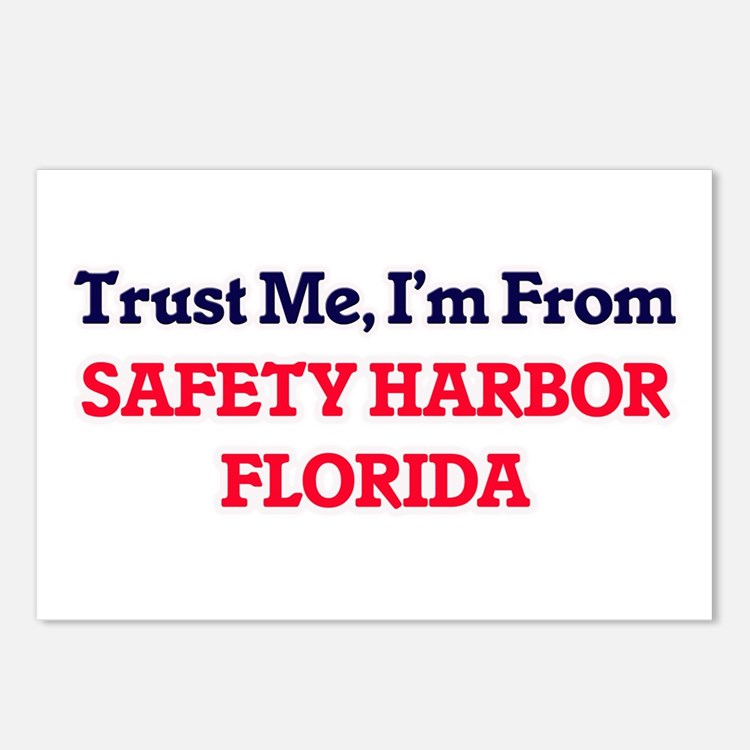 Trust Me, I'm from Safety Postcards (Package of 8)