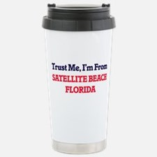 Trust Me, I'm from Sate Stainless Steel Travel Mug