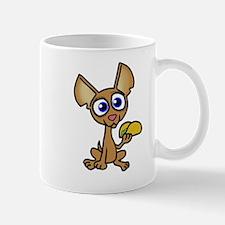 Chihuahua with taco Mugs