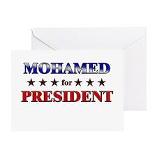 MOHAMED for president Greeting Card