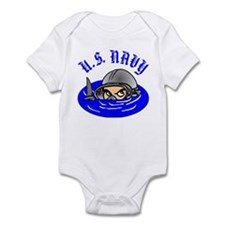 U.S. Navy Scuba Infant Bodysuit