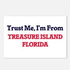 Trust Me, I'm from Treasu Postcards (Package of 8)