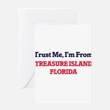 Trust Me, I'm from Treasure Island Greeting Cards