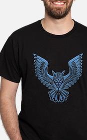L.A. Owl Ink: Tattoo Design T-Shirt