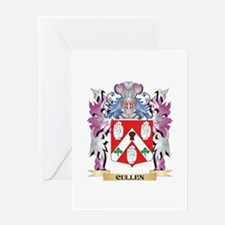 Cullen Coat of Arms (Family Crest) Greeting Cards