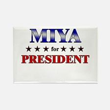 MIYA for president Rectangle Magnet