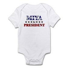 MIYA for president Infant Bodysuit