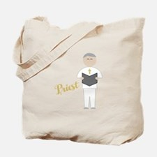 Priest Officiant Tote Bag