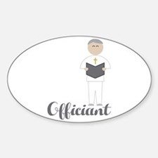 Officiant Decal