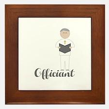 Officiant Framed Tile