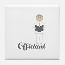 Officiant Tile Coaster
