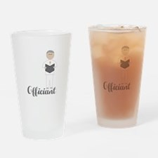 Officiant Drinking Glass