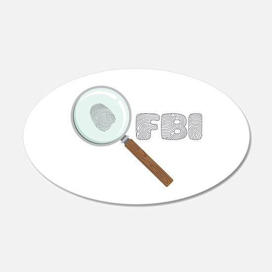 FBI Wall Decal