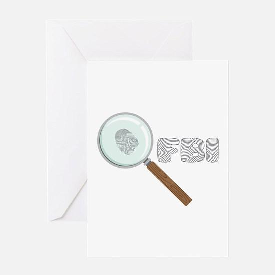 FBI Greeting Cards