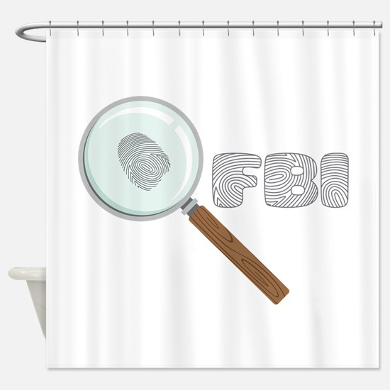 FBI Shower Curtain