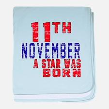 9 November A Star Was Born baby blanket