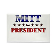 MITT for president Rectangle Magnet