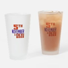 5 November A Star Was Born Drinking Glass