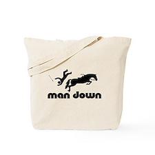 man down jumper Tote Bag