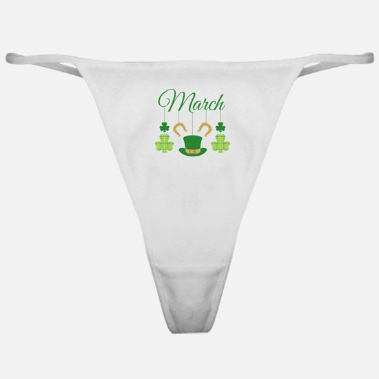 March Mobile Classic Thong