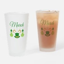 March Mobile Drinking Glass