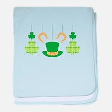 St. Patricks Mobile baby blanket