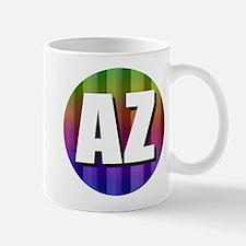 AZ Arizona Rainbow Mugs