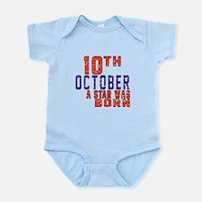 10 October A Star Was Born Infant Bodysuit
