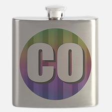Co Colorado Rainbow Flask