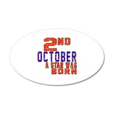 2 October A Star Was Born Wall Decal