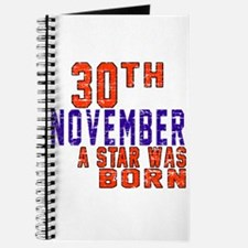 30 November A Star Was Born Journal