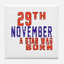 29 November A Star Was Born Tile Coaster